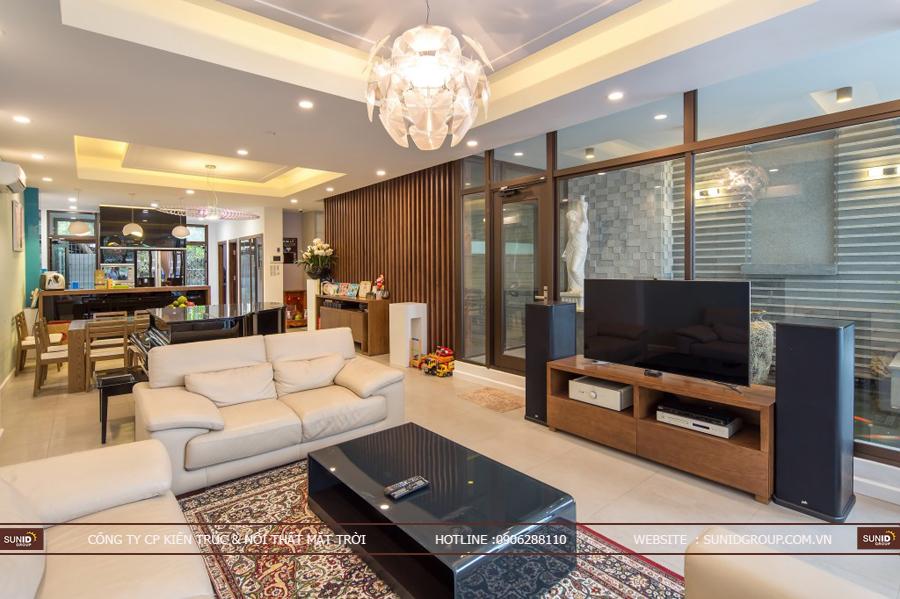Thiết kế kiến trúc và nội thất biệt thự tại Hải Phòng anh Mạnh