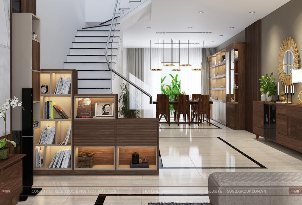 Thiết kế nội thất biệt thự Louis City Đại Mỗ