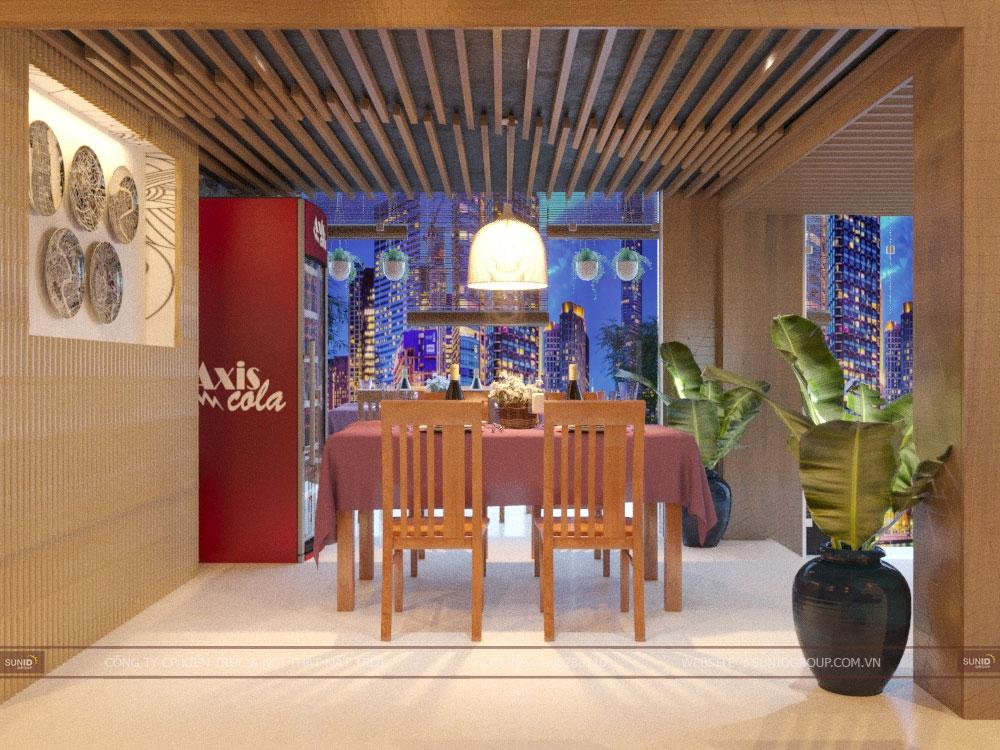 Thiết kế nội thất nhà hàng tại Quảng Ninh