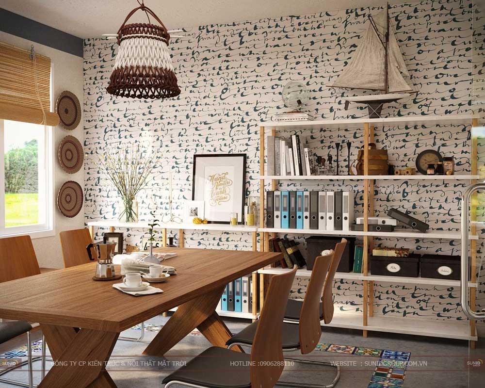 Thiết kế nội thất văn phòng mini