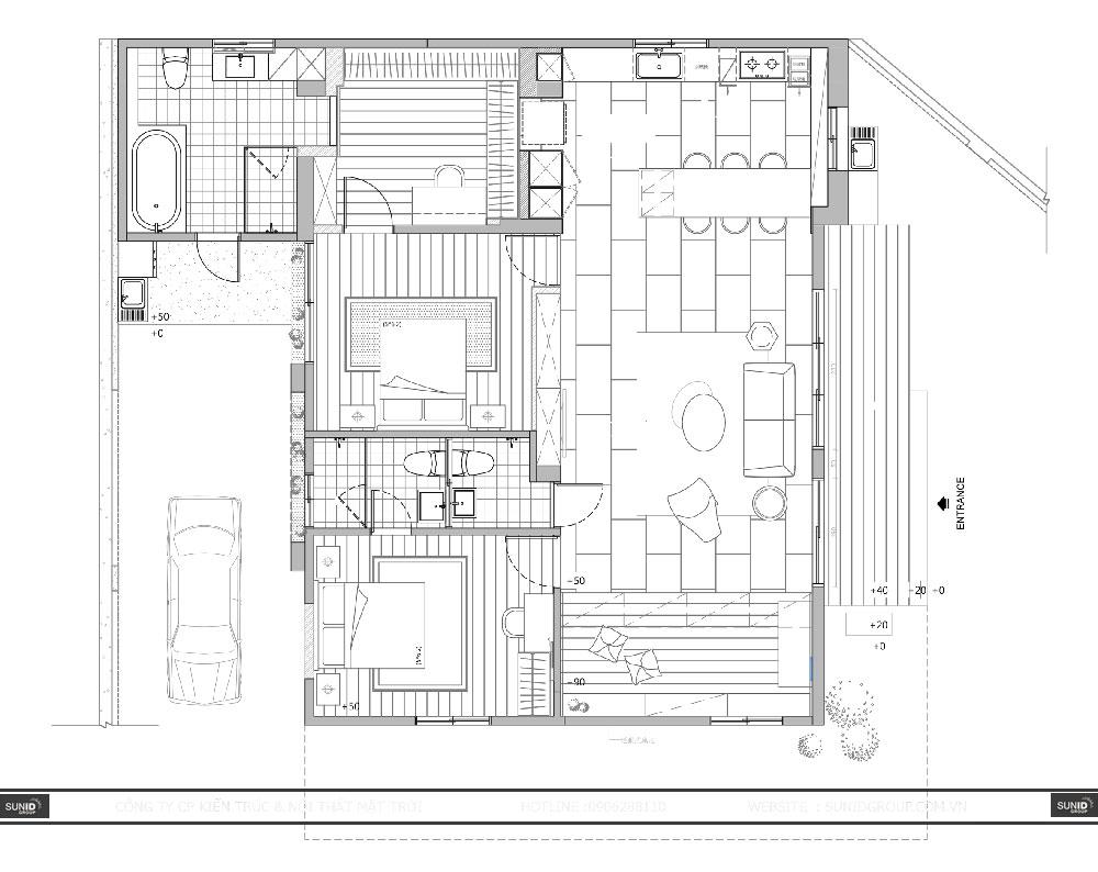 Thi công cải tạo nội thất nhà cấp 4