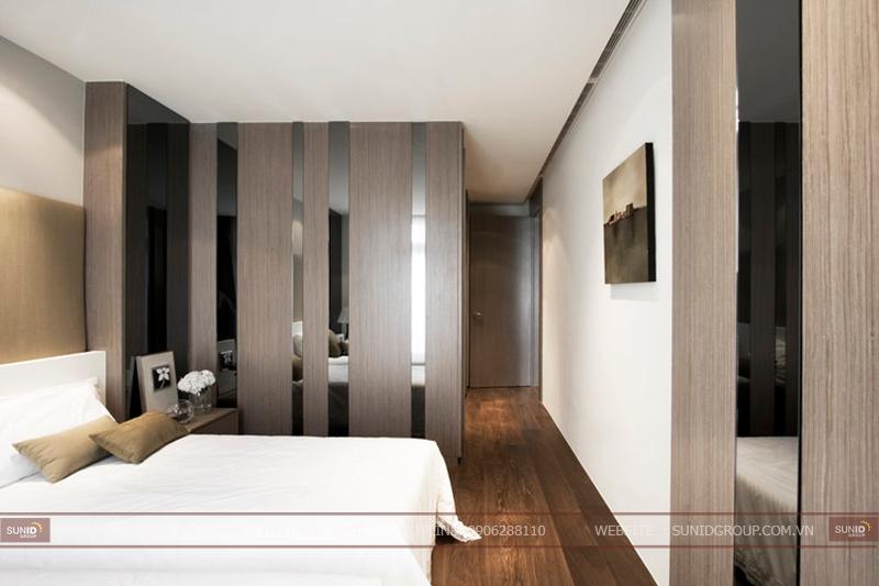 Thiết kế thi công nội thất chung cư Rainbow quận Hoàn Kiếm