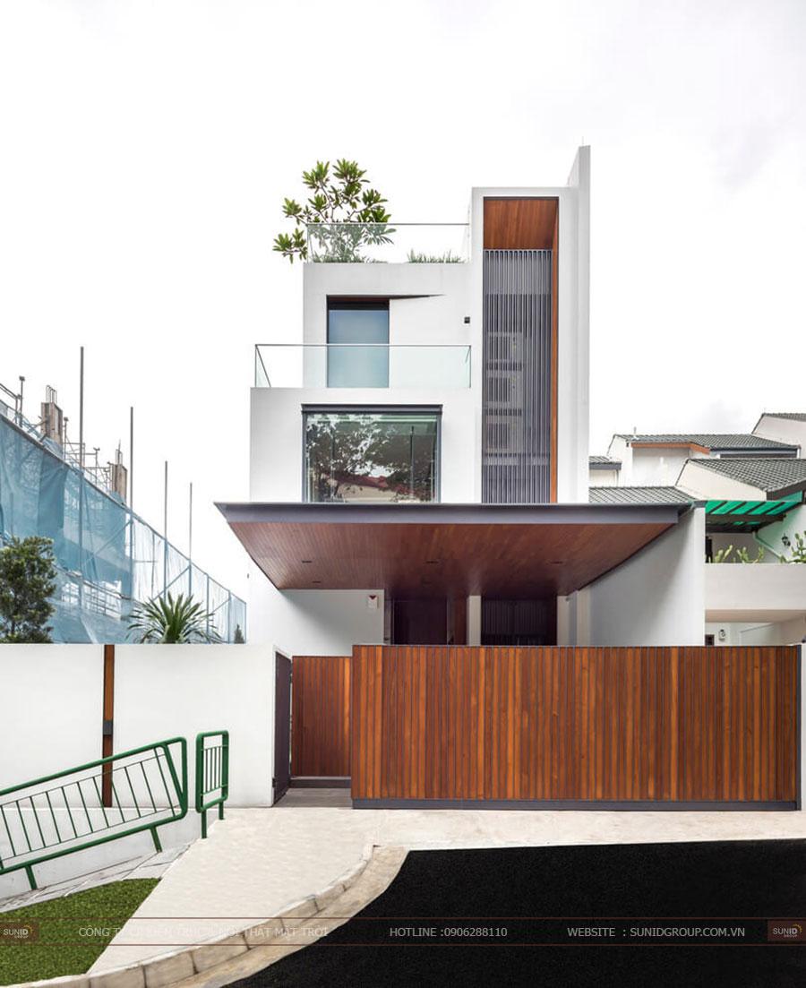 Thiết kế kiến trúc và nội thất nhà phố tại Hà Nội