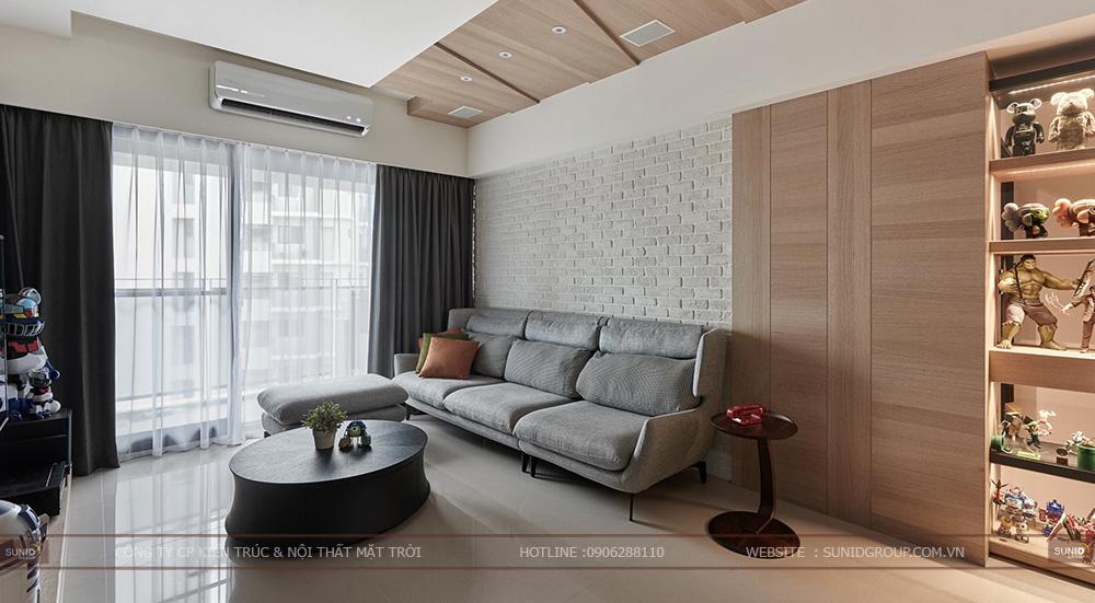 Thiết kế nội thất chung cư CT4 Vimeco – Căn CH-3A
