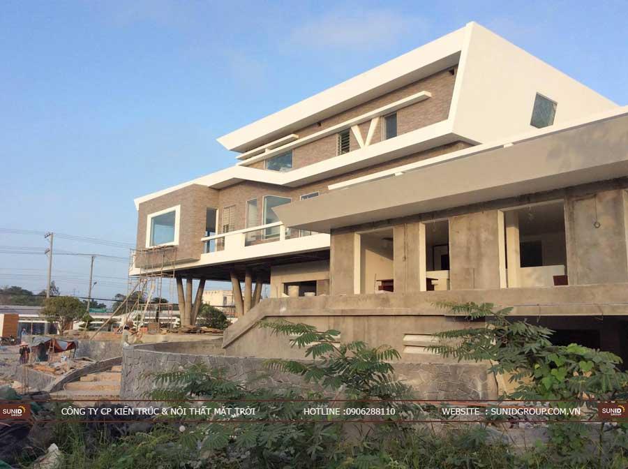 Thi công xây dựng biệt thự tại Hà Nội – Anh Quang