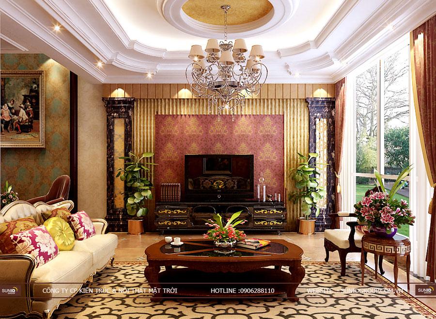 Thiết kế nội thất biệt thự Gamuda Gardens