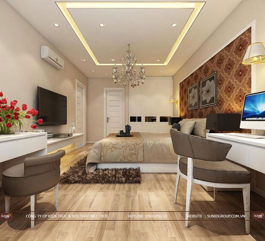 Thiết kế nội thất chung cư 87 Lĩnh Nam