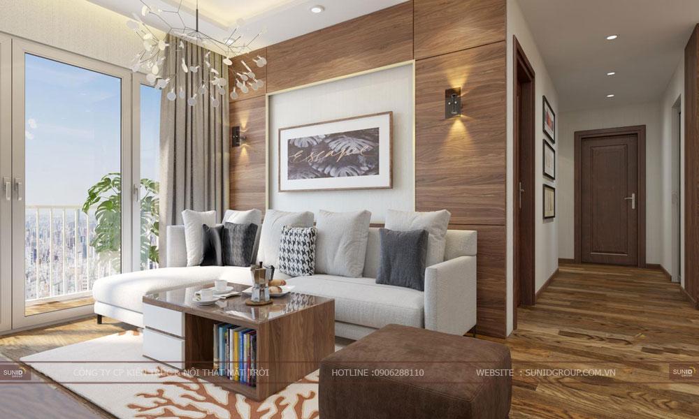 Thiết kế nội thất chung cư GoldSilk Complex – Hiện đại