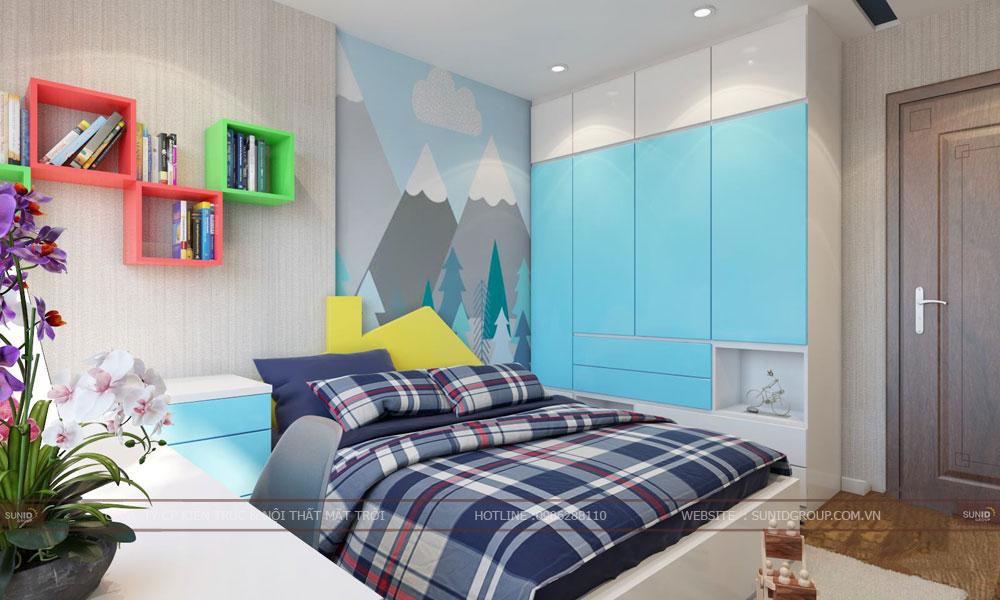 Thiết kế nội thất chung cư GoldSilk Complex