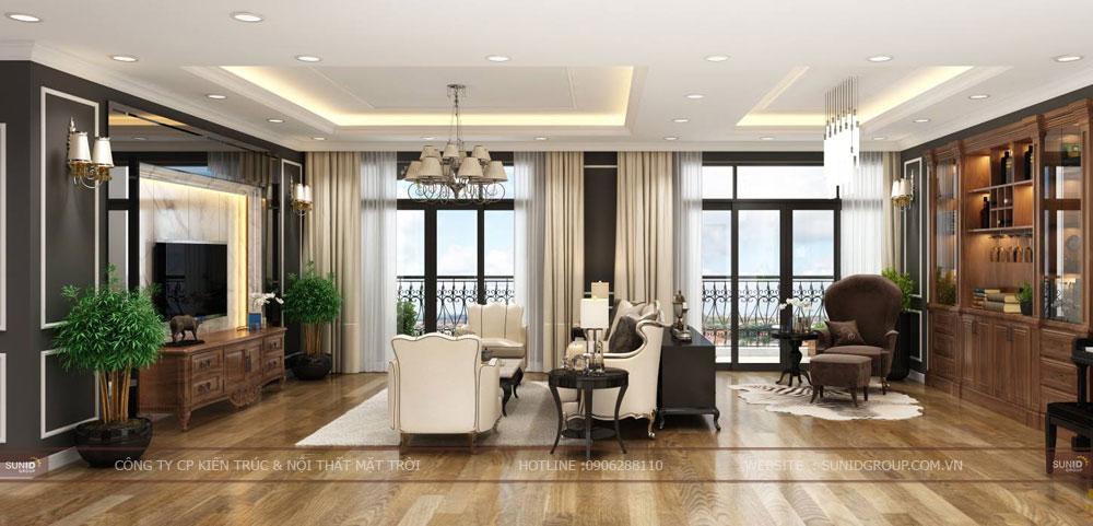 Thiết kế nội thất chung cư Roman Plaza