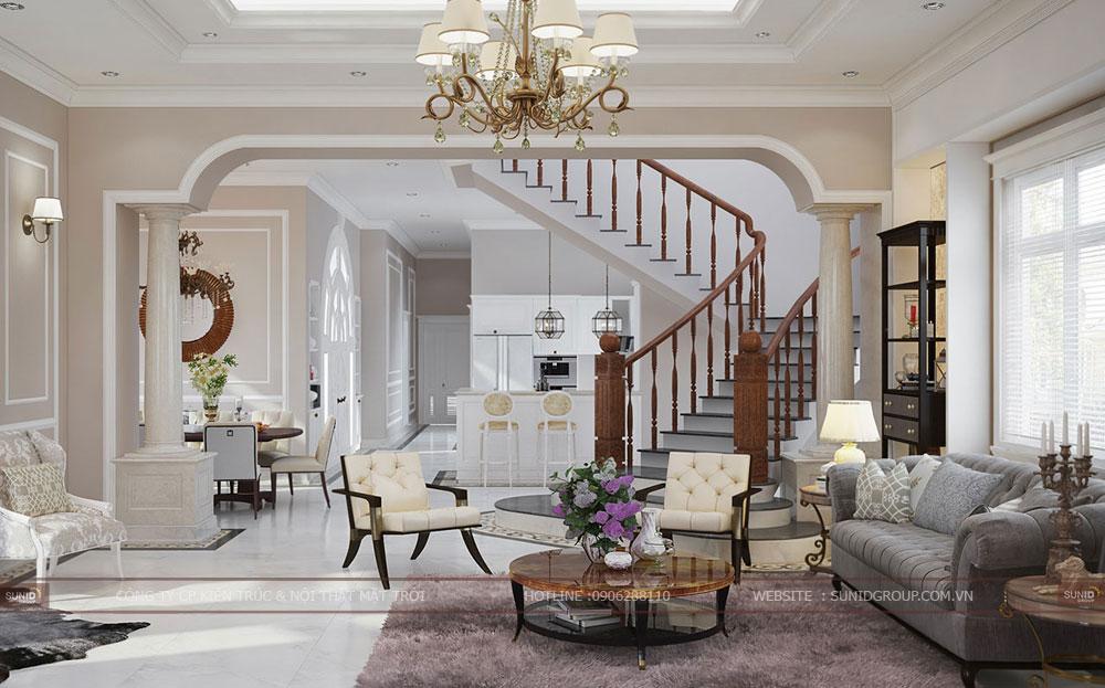 Thiết kế nội thất nhà liền kề Gamuda Gardens