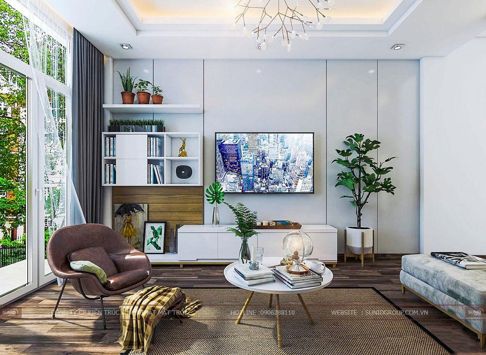 Thiết kế nội thất nhà liền kề The Manor Central ParkThiết kế nội thất nhà liền kề The Manor Central Park