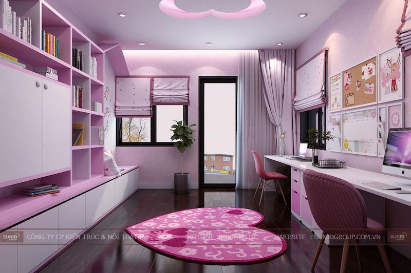 Thiết kế nội thất nhà ở tại Hà Nội