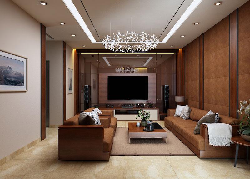 Thiết kế nội thất nhà ở tại Hà Nội – anh Long