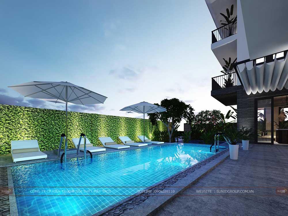 Thiết kế thi công biệt thự tại Bắc Ninh