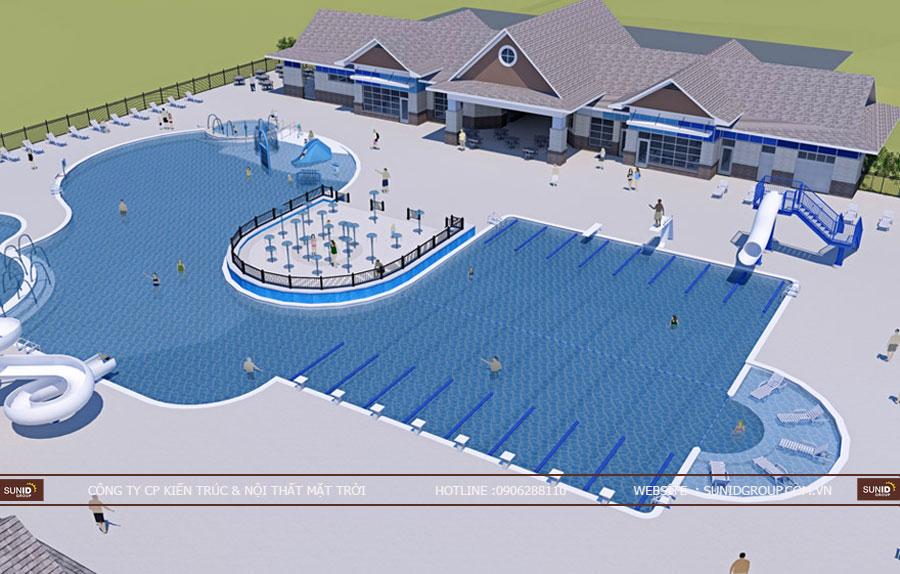 Thiết kế thi công hồ bơi chuyên nghiệp