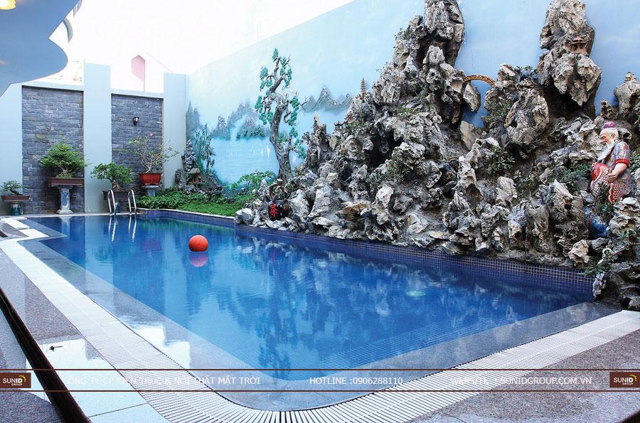 Thiết kế thi công hồ bơi chuyên nghiệp – hồ bơi gia đình, hồ bơi kinh doanh