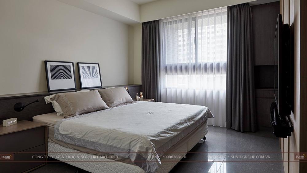 Thiết kế nội thất chung cư CT4 Vimeco – Căn CH-2A