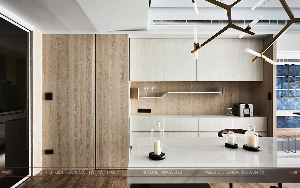 Thiết kế nội thất chung cư The Golden An Khánh