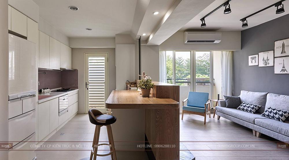 Thiết kế nội thất chung cư Tân Tây Đô