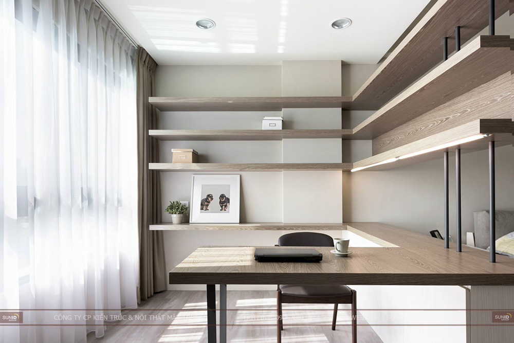 Thiết kế nội thất chung cư CT4 Vimeco – Căn CH-1B