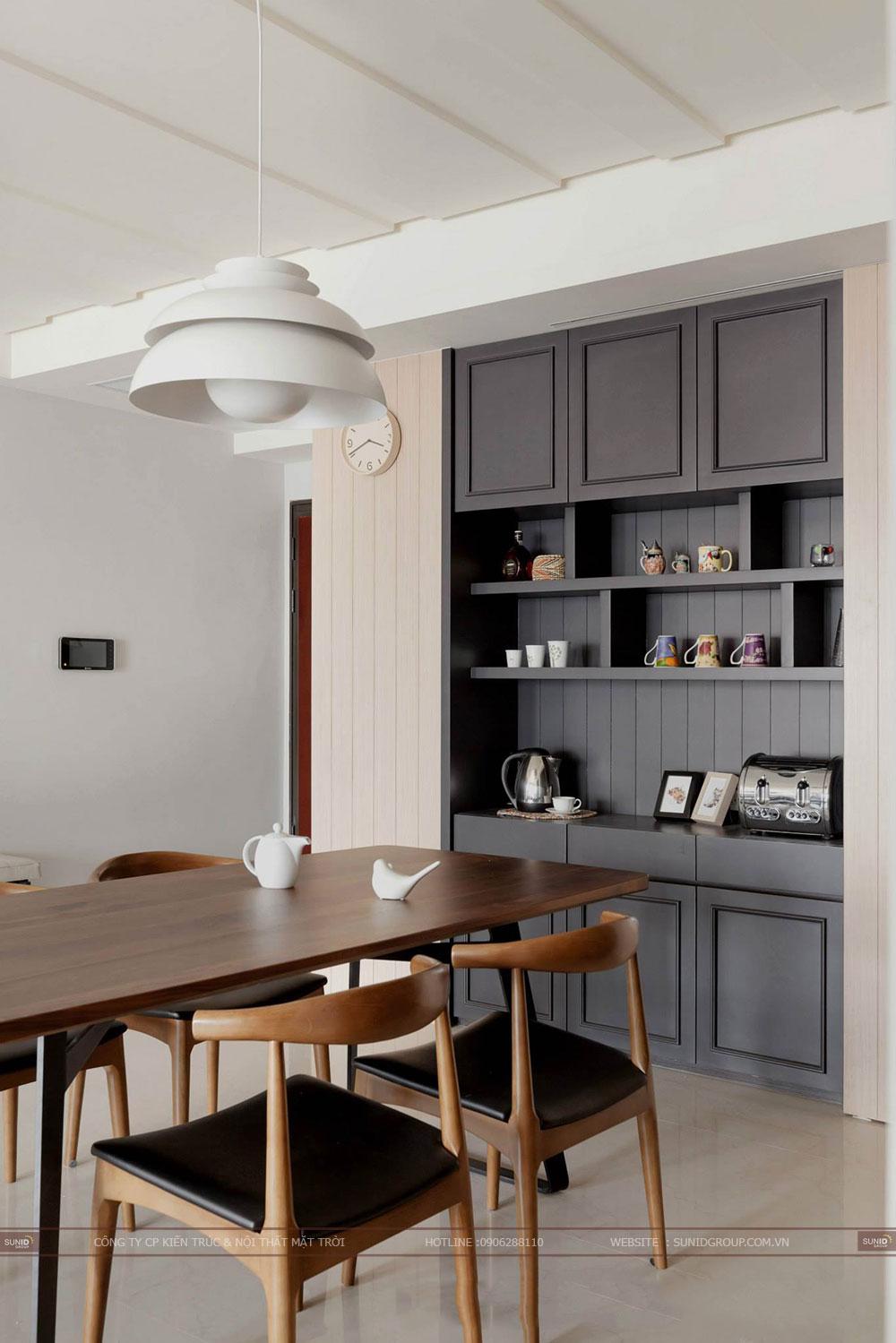Thiết kế nội thất chung cư CT4 Vimeco – Căn CH-4B