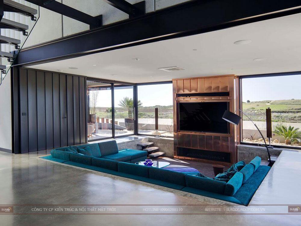 Thiết kế nội thất biệt thự cao cấp - hiện đại