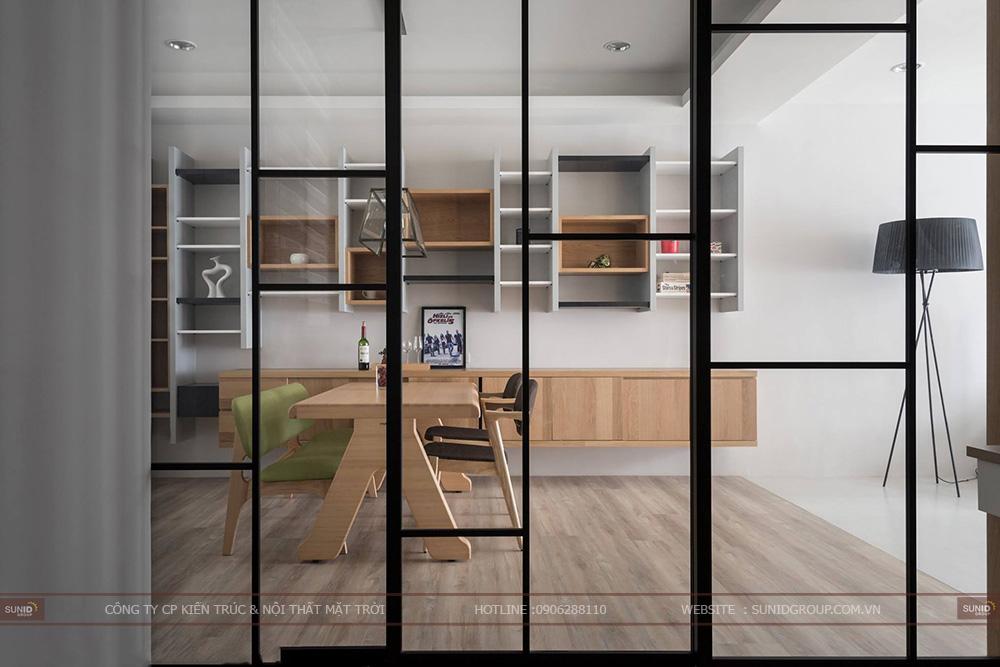 Thiết kế nội thất chung cư CT4 Vimeco – Căn CH-2B