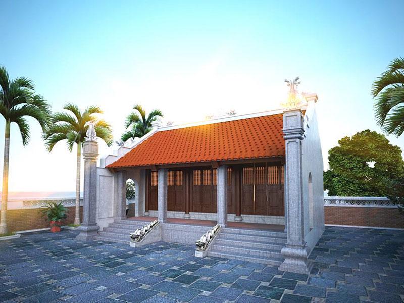mẫu thiết kế nhà thờ họ ảnh 2