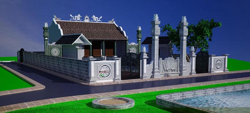 mẫu thiết kế nhà thờ họ ảnh 4