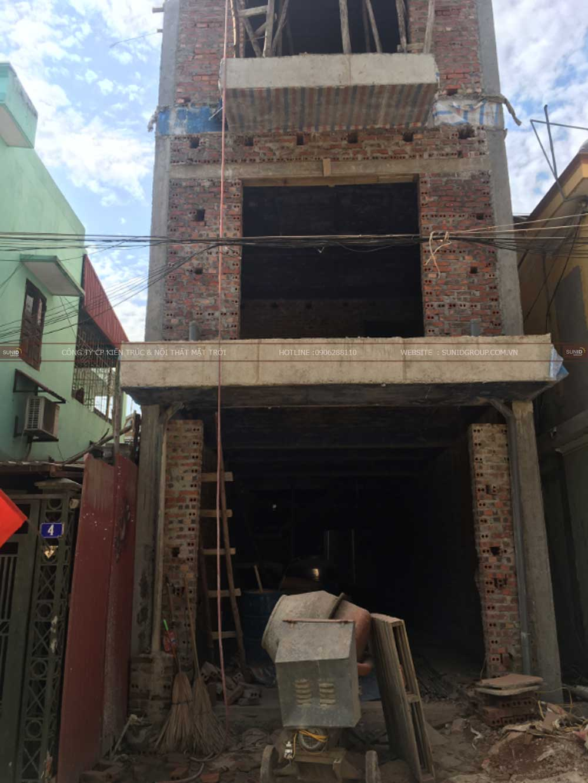 Thi công xây dựng nhà tại Gia Lâm