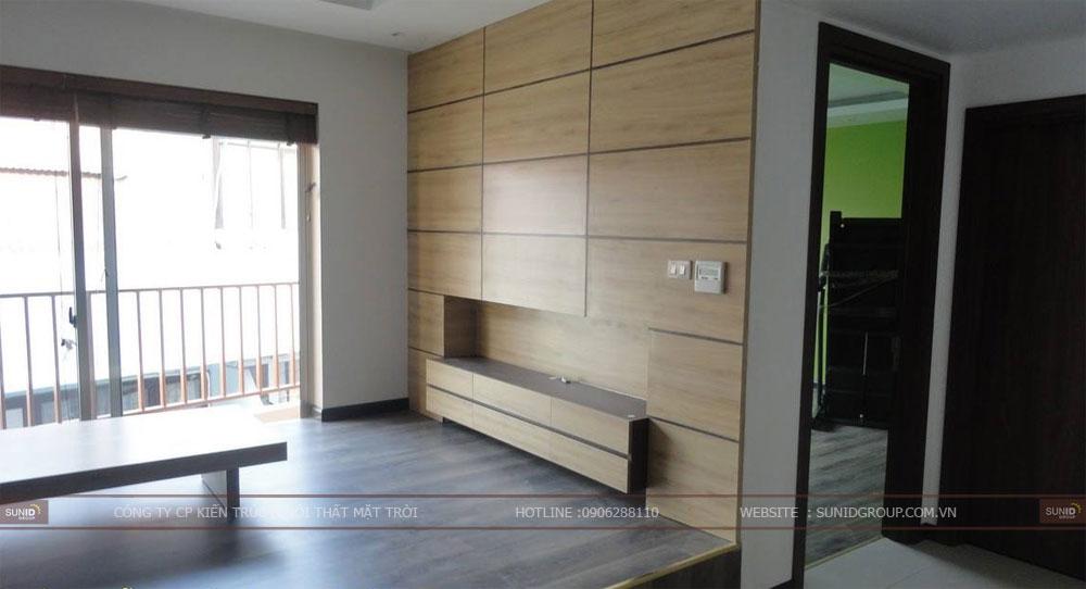 Thi công nội thất gỗ công nghiệp tại Hà Nội
