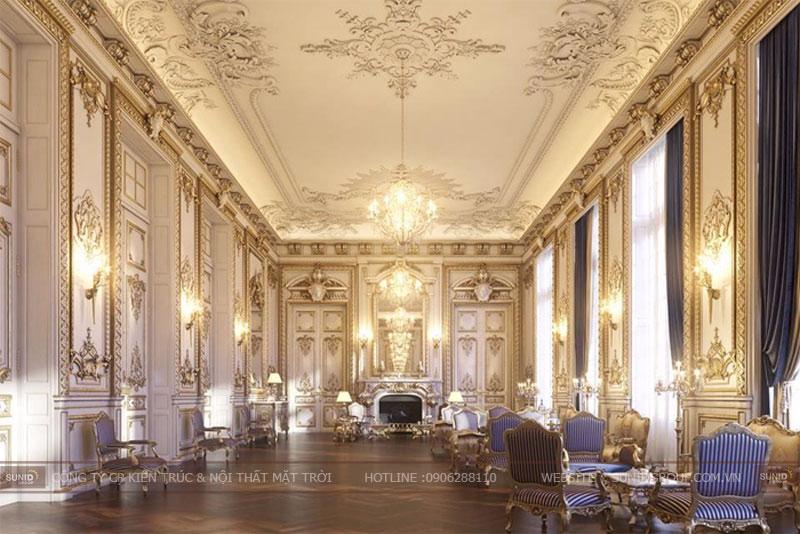 Thiết kế nội thất biệt thự cổ điển – nội thất cổ điển
