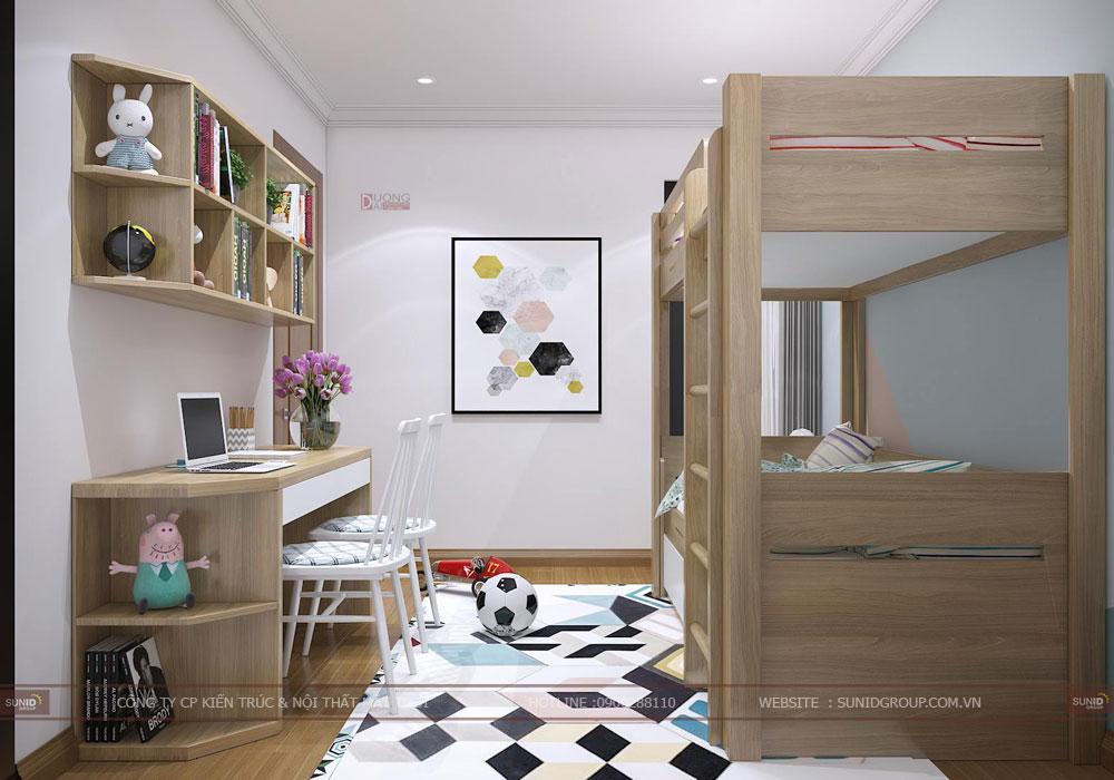 Thiết kế nội thất chung cư Eco Green City