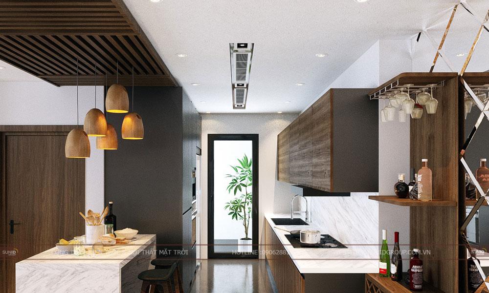 Thiết kế nội thất chung cư SUNSHINE RIVERSIDE