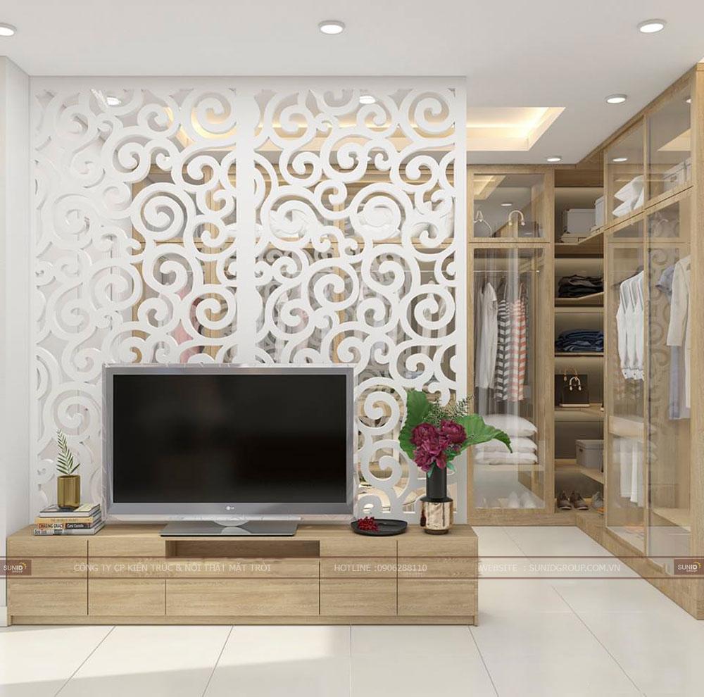 Thiết kế nội thất nhà phố quận Hoàng Mai