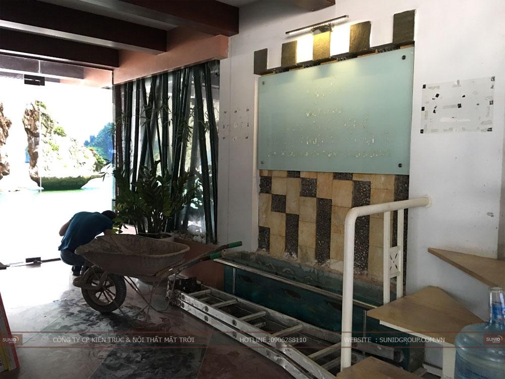 Thiết kế thi công cải tạo văn phòng quận Thanh Xuân