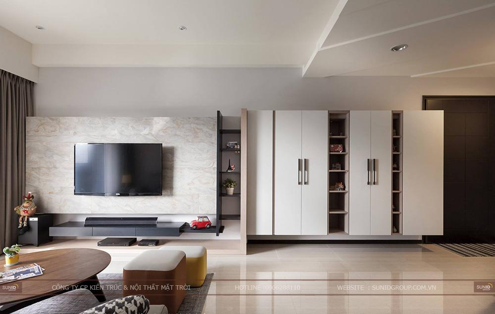 Thiết kế nội thất chung cư CT4 Vimeco – Căn CH-3B