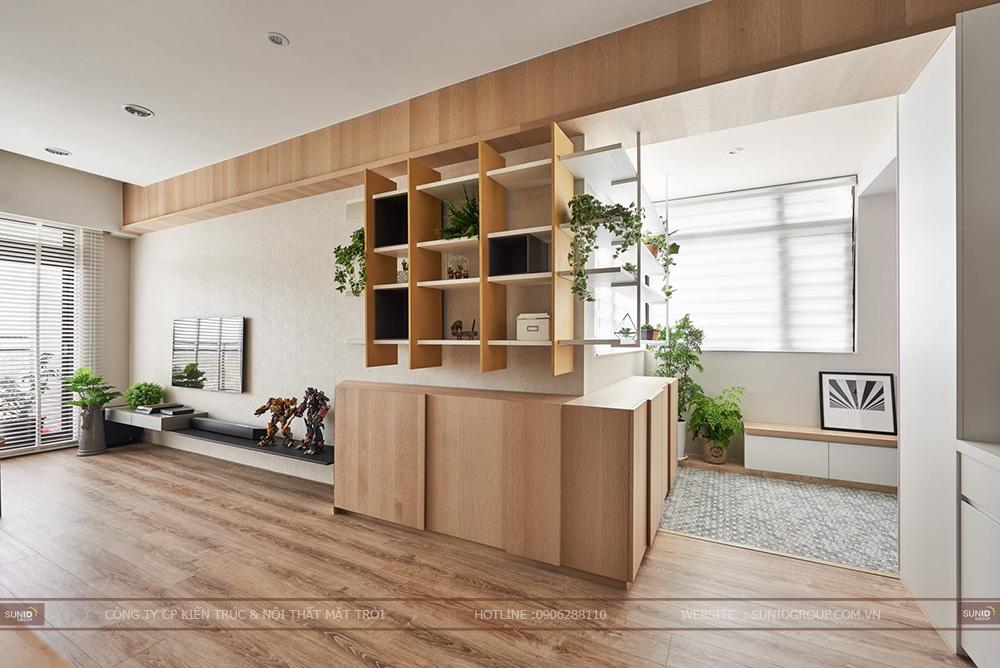 Thiết kế nội thất chung cư Dream Center Home - 282 Nguyễn Huy Tưởng