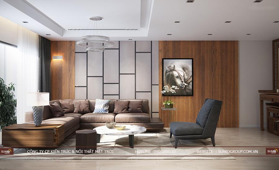 Thiết kế nội thất chung cư Vinhomes Green Bay