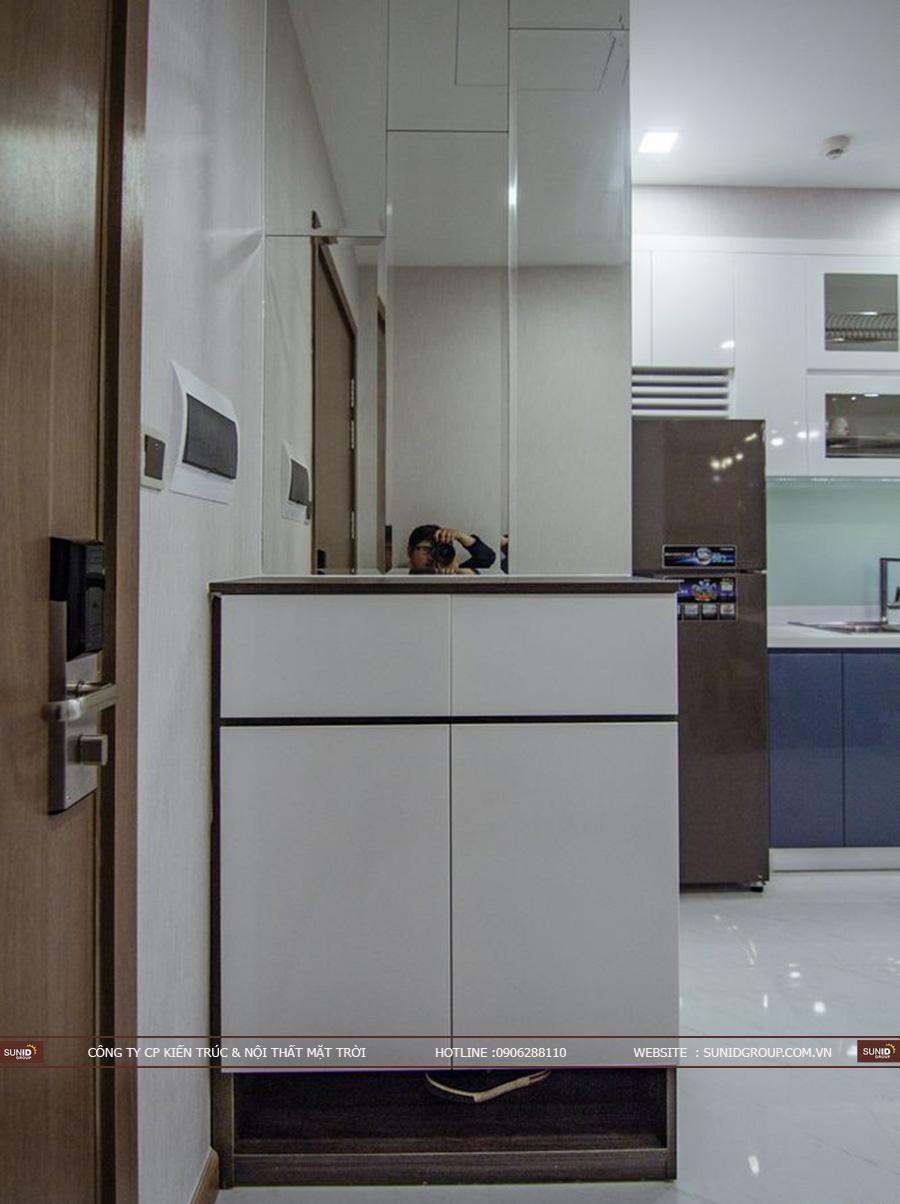Thi công nội thất chung cư Vinhomes Nguyễn Chí Thanh