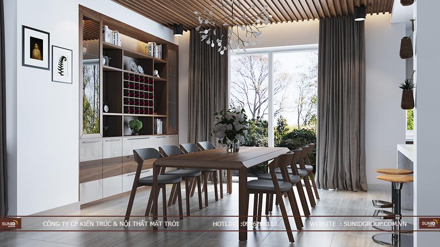 Thiết kế nội thất biệt thự Nam An Khánh SUDICO