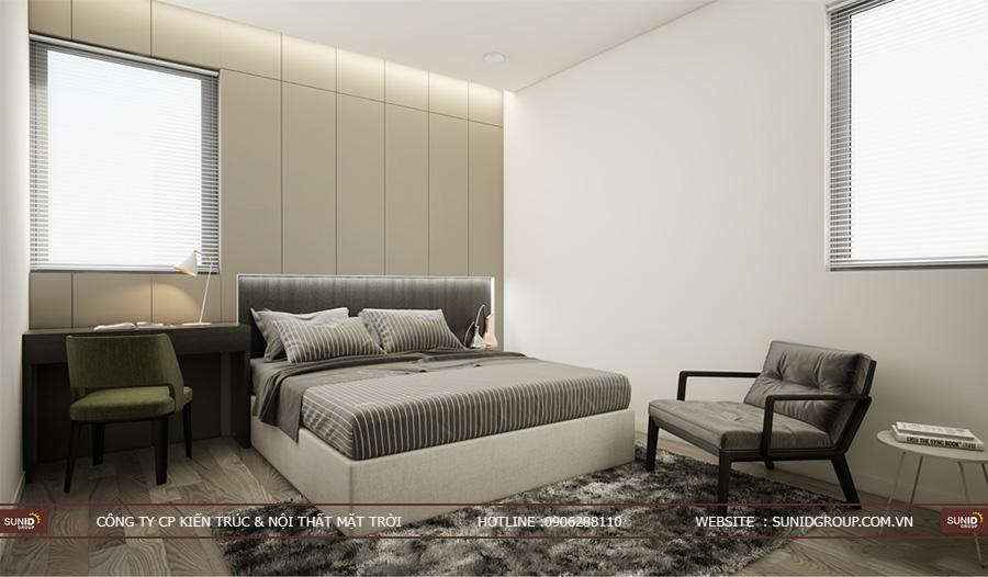 Thiết kế nội thất biệt thự liền lề Park River Ecopark
