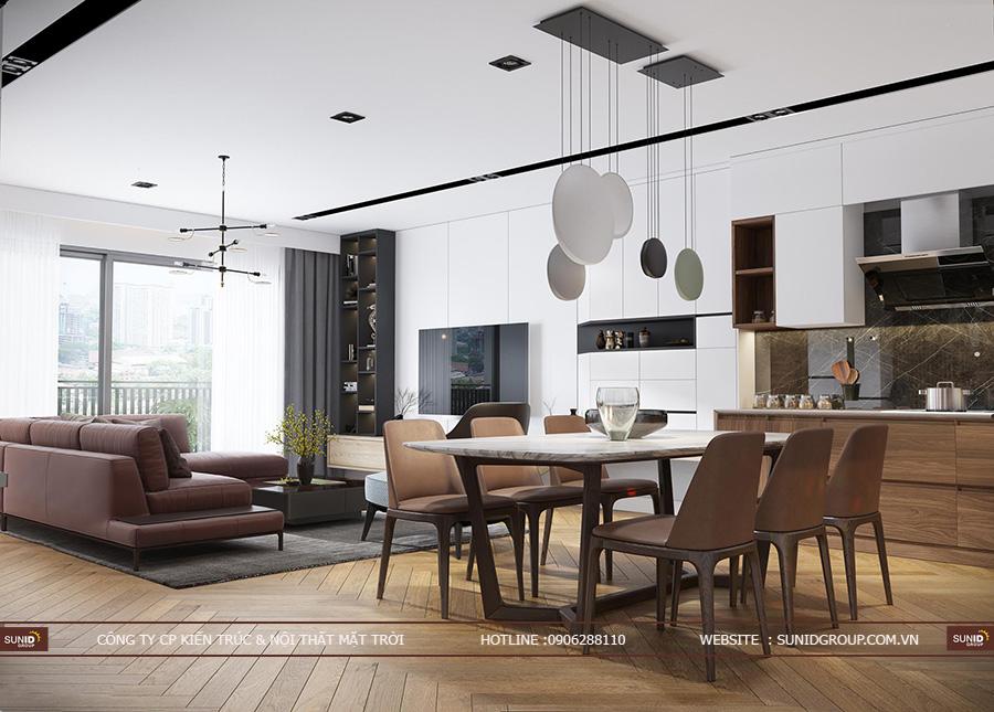 Thiết kế nội thất chung cư EcoLife CapitolThiết kế nội thất chung cư EThiết kế nội thất chung cư EcoLife CapitolcoLife Capitol