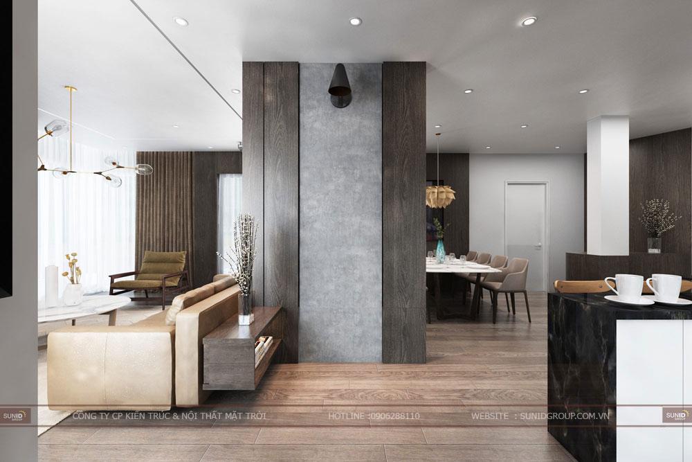Thiết kế nội thất chung cư Eurowindow River Park Đông Anh