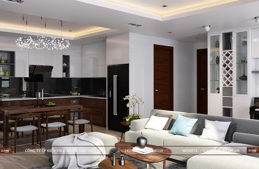 Thiết kế nội thất chung cư FLC Garden City Đại Mỗ