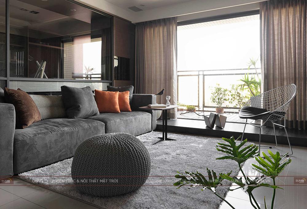 Thiết kế nội thất chung cư HUD3 Nguyễn Đức Cảnh