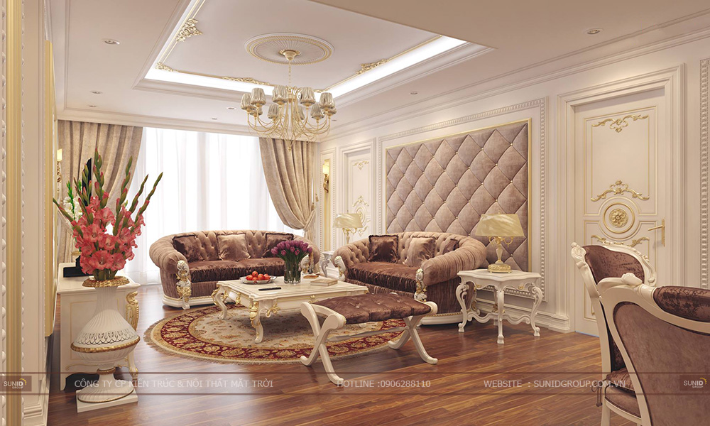 Thiết kế nội thất chung cư Mandarin Garden 2 – Anh Thanh