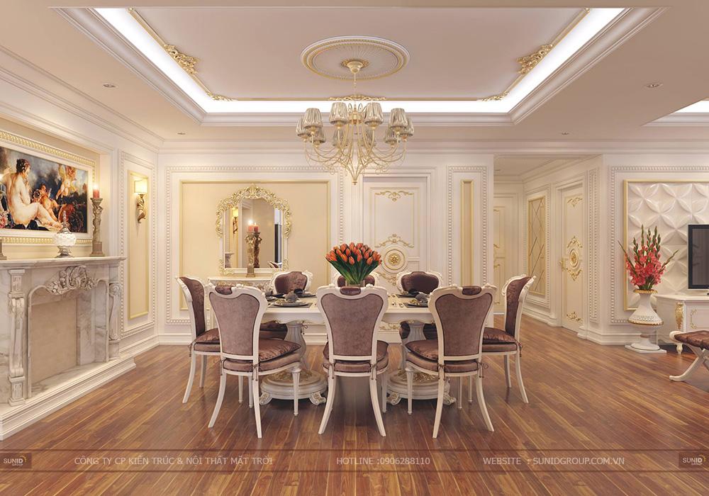 Thiết kế nội thất chung cư Mandarin Garden 2