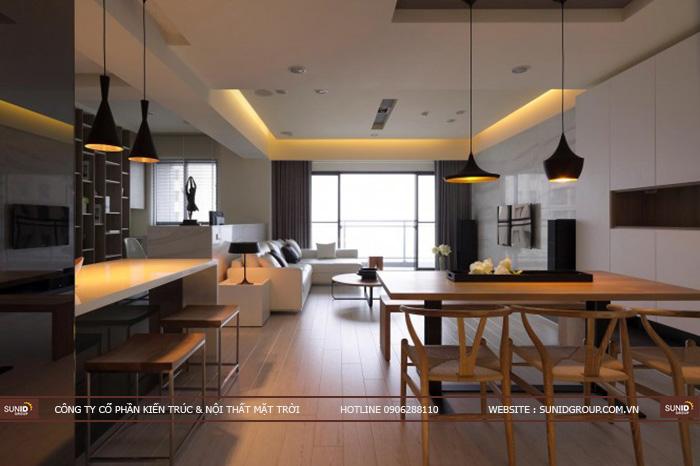 Thiết kế nội thất chung cư Mỹ Đình Plaza 2